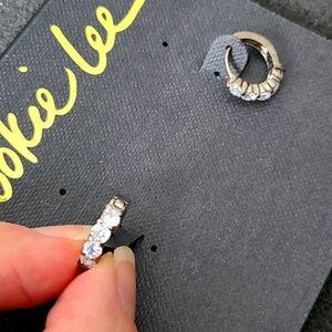 Cookie Lee cubic zirconia earrings